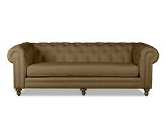 Hanover Chesterfield Sofa Upholstery: Brown