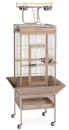 Elektra Bird Cage Color: Coco, Size: Small
