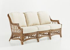 Stowers Sofa Finish: Cinnamon, Upholstery: Meeks Lime