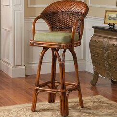 Stowell Swivel Bar Stool Seat Height: 24