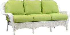 Souder Sofa with Cushion Color: Canvas Crimson