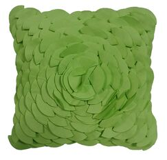 Soltero Peony Indoor/Outdoor Throw Pillow Color: Leaf