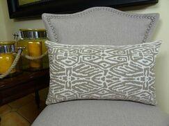 Trendy Look Handmade Throw Pillow Size: 20