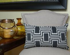 Conduit Handmade Throw Pillow Size: 20