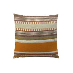 Chic Stripe Handmade Throw Pillow Size: 24