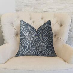 Bluebell Double Sided Throw Pillow Size: 20