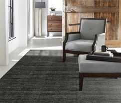 Saulters Hand-Woven Gray Area Rug Rug Size: 8'6
