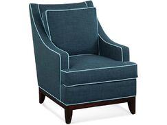 Libby Langdon Whitaker Armchair Upholstery: 0405-61/Honey
