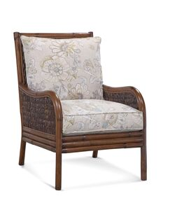 Shelter Cove Armchair Upholstery: White and Ivory Textured Plain; 0377-93