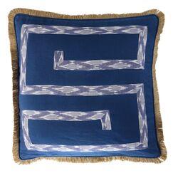 Exter Cotton/Burlap Pillow Cover