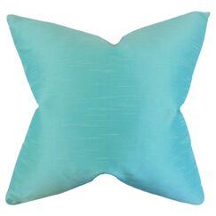 Acker Solid Bedding Sham Color: Aquamarine, Size: Standard