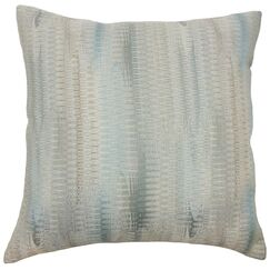 Ngozi Throw Pillow Color: Placid, Size: 24