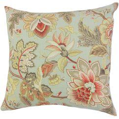 Filipa Floral Throw Pillow Size: 18