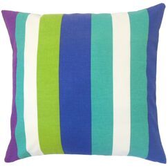 Gainell Cotton Throw Pillow Color: Grey, Size: 22