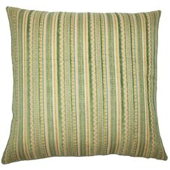 Uorsin Striped Throw Pillow Cover Size: 20