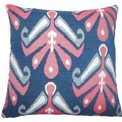 Berke Ikat Throw Pillow Size: 20