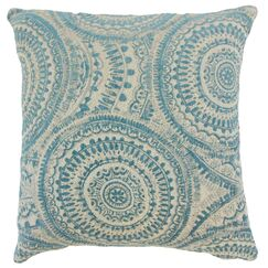 Celise Geometric Floor Pillow