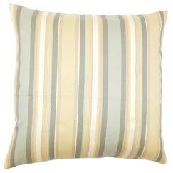 Albin Striped Floor Pillow Color: Dune