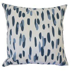 Oldsmar Graphic Cotton Throw Pillow