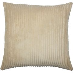 Janelle Solid Down Filled Throw Pillow Size: 24