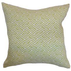 Kibler Geometric Cotton Bedding Sham Size: Standard
