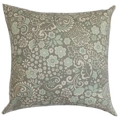 Manchineel Floral Bedding Sham Size: Standard