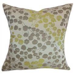 Reynosa Throw Pillow Color: Willow, Size: 22
