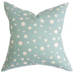 Bebe Polka Dots Cotton Throw Pillow Cover Size: 20
