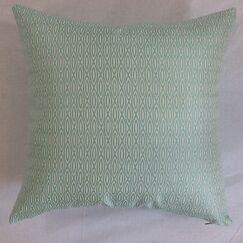 Whitney Geometric Cotton Throw Pillow Size: 18