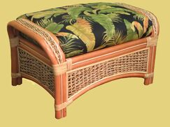 Keiper Ottoman Upholstery: Cream