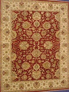 Agra Traditional Lamb's Wool Area Rug