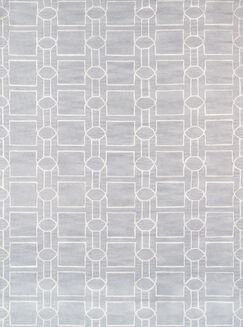 Venice Hand Tufted Transitional Gray Area Rug Rug Size: Rectangle 5'6