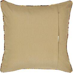 Vintage Turkish 100% Wool Throw Pillow