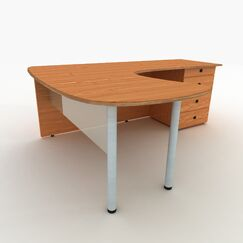 Desk Privacy Panel