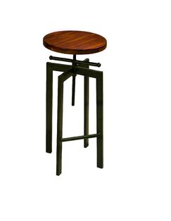 Mckelvy Adjustable Stool
