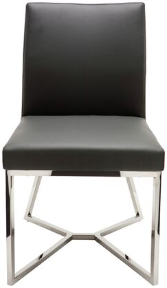 Patrice Side Chair Upholstery Color: Grey