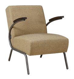 Girton Club Armchair Upholstery: Light Gray