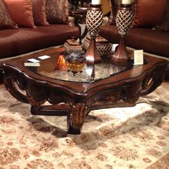 Abrianna 2 Piece Coffee Table Set