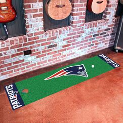 NFL New England Patriots Putting Green Mat