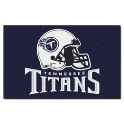 NFL - Tennessee Titans Doormat Mat Size: 5' x 8'