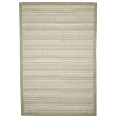 Baylis Casual Stripe Beige Indoor/Outdoor Area Rug Rug Size: Rectangle 8' x 10'