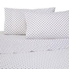 Americana Skipjack 4 Piece 200 Thread Count 100% Cotton Sheet Set Size: Twin