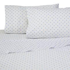 Sea Stars 4 Piece 200 Thread Count 100% Cotton Sheet Set Size: Full