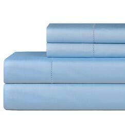 610 Thread Count 4 Piece Pima Cotton Sheet Set Size: Queen, Color: Spa Blue