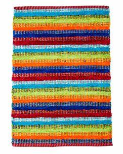 Casa Bella Hand-Woven Multi Area Rug Rug Size: 4' x 6'