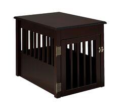 Daniella Pet Crate Color: Chestnut, Size: 28