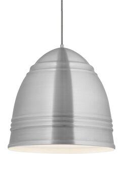 Alonso 1-Light Novelty Pendant Bulb Type: A19 LED 90 CRI 2700K 120V (T20/T24), Shade Color: Copper, Finish: Rubberized Black