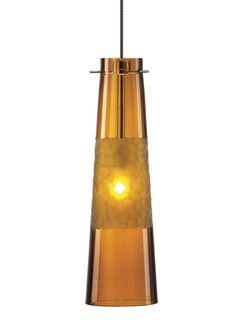 Kiki 1-Light Mini Pendant Bulb Type: 12 Volt Xenon (T20), Finish: Satin Nickel, Shade Color: Smoke