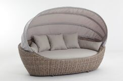 Seager Patio Daybed with Cushions