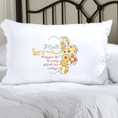 Personalized Gift Pillowcase Color: Sunny